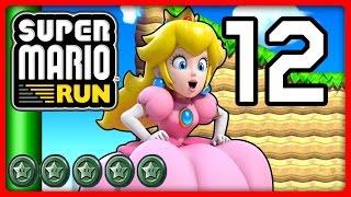 SUPER MARIO RUN Part 12: Peach hat es eilig mit den schwarzen Münzen von World 3 & 4