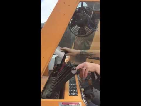 Broderson 8 t carry deck crane