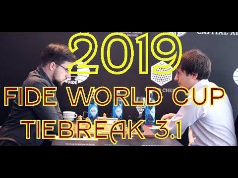 2019 Fide World Cup Tie Breaker 3.1 Jakovenko Turns The Heat On Maxime Vachier-Lagrave