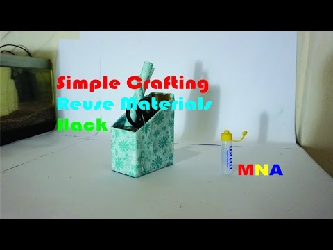 Simple Crafting Reuse Materials Handcraft