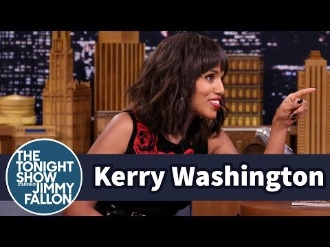 Usher Persuaded Kerry Washington to Party Late with the Obamas