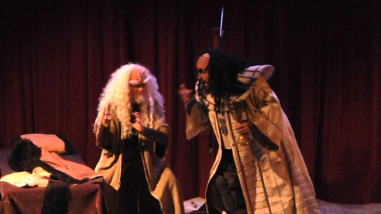 Sneak Peek A Klingon Christmas Carol - YouTube