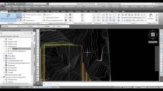 Civil 3D 2012: Построение цифровой модели рельефа