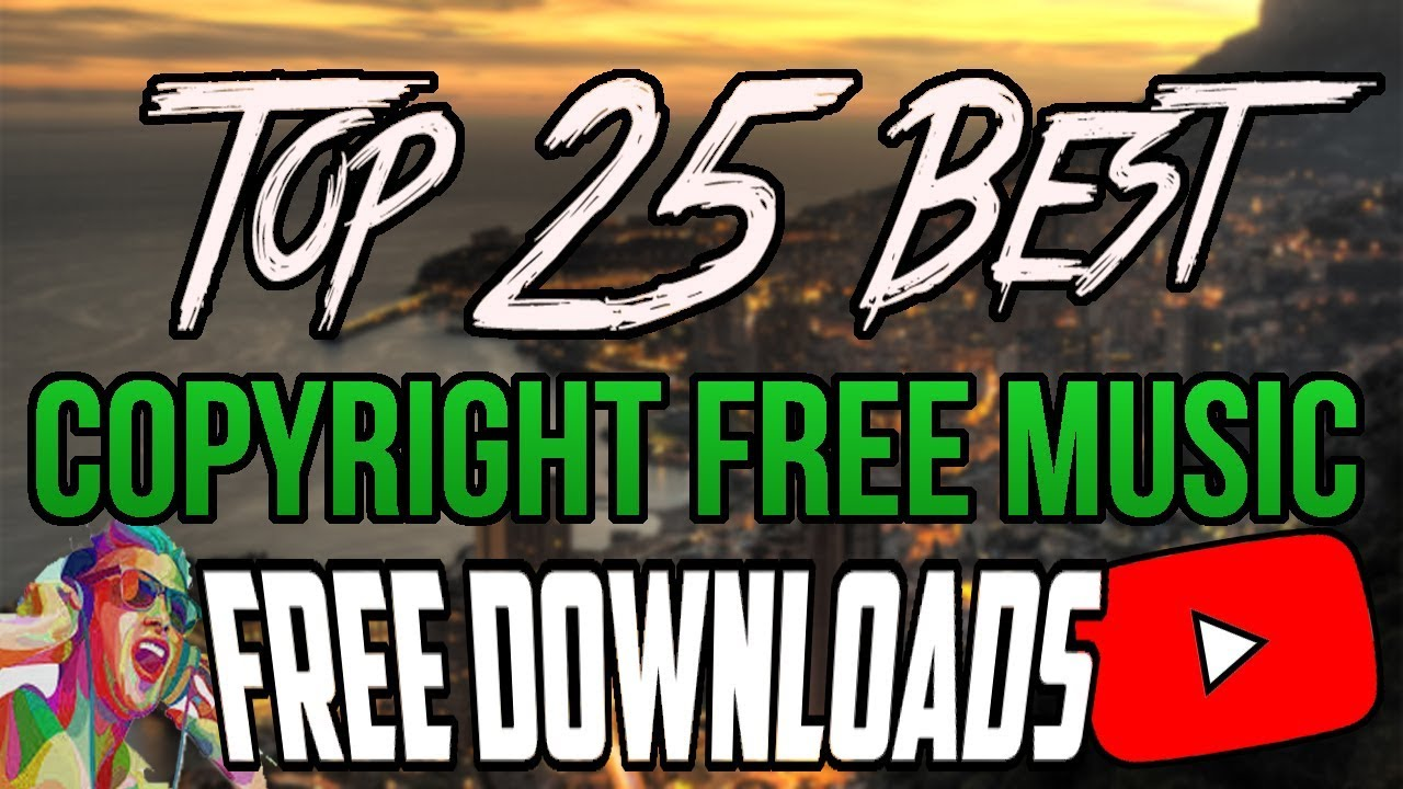 10 best sites to dowload free copyright-free music.