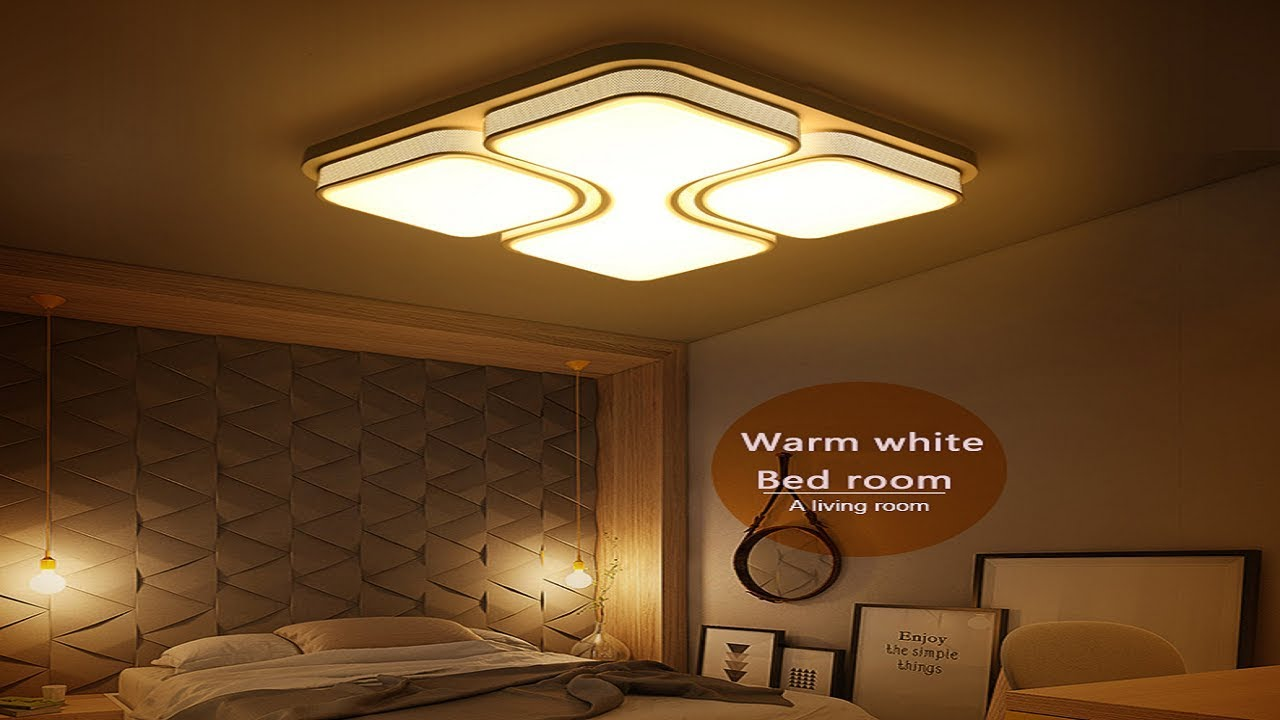 Led Ceiling Light Living Room Shelving Ideas For Best Lights Bedroom Indoor Lighting Lamp Fixture Luminaria Teto