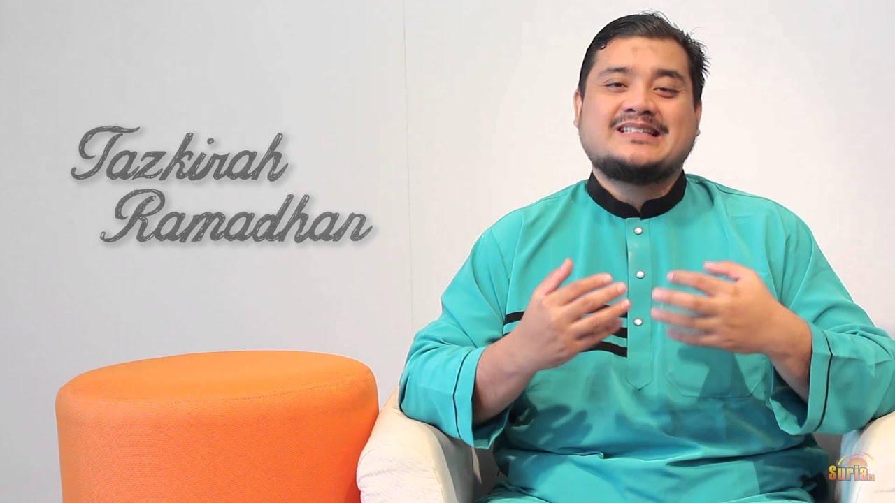 Tazkirah Ramadhan - Puasa Enam di Bulan Syawal - YouTube