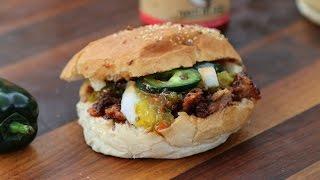 Iberico Rib Sandwich - Pulled Iberico Rib Sandwich
