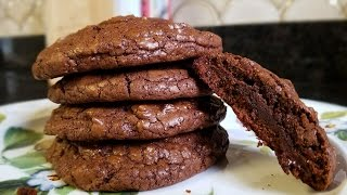 Double Chocolate Chunk Cookies - What