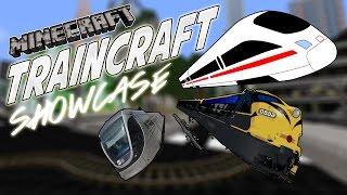 TrainCraft Showcase - TRAINS IN MINECRAFT!