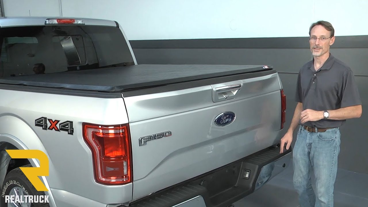 How To Install American Hard Tri Fold Tonneau Cover On A 2015 Ford F 150 Youtube