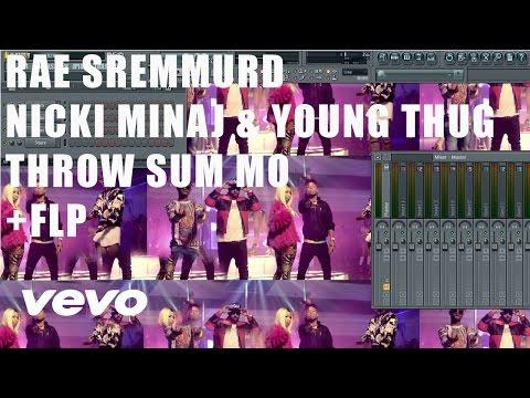 Rae Sremmurd - Throw Sum Mo Ft. Nicki Minaj & Young Thug FL Studio Remake Tutorial + FLP