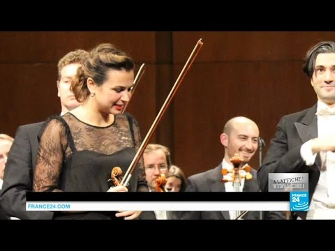 La violoniste Sarah Nemtanu, une artiste pas si classique