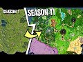 Evolution of Fortnite Map [Season 1 to SEASON 11 LEAKED] - Fortnite