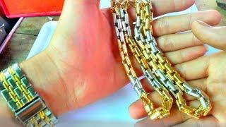 PHN | chiêm ngưỡng mẫu dây chuyền khủng 100 triệu | Dây chuyền vàng nam đẹp