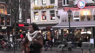 Outside Amsterdam The Bulldog Coffee Shop