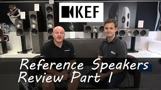 KEF Reference Speakers Review I visit KEF HQ to find out about the History, Design and Build PART I