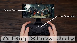 Xbox in July: Games, Game Core, and Controllers