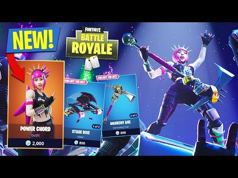 NEW UPDATE!! *LEGENDARY POWER CHORD SKIN* // 11,900+ KILLS // 639+ WINS (Fortnite Battle Royale)