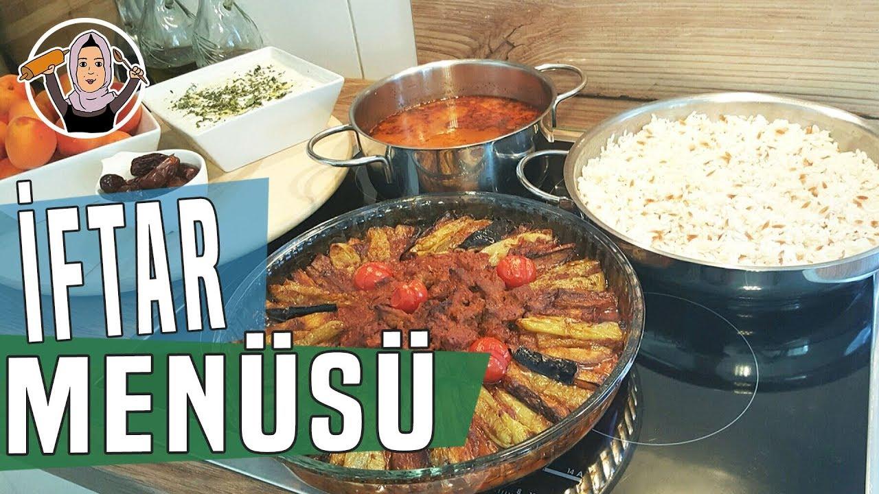 Parmak Kebabı - Ezogelin Çorbası - Pilav | Hatice Mazı ile Yemek Tarifleri