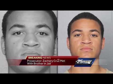 Prosecutor: Zachary Cruz visited brother in jail