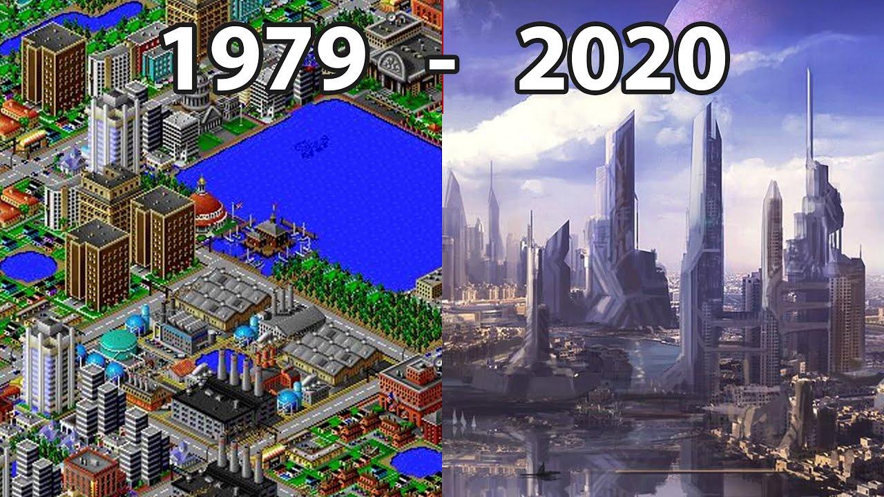 Evolution of CITY BUILDER Games 1981 - 2020