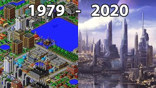 Evolution of CITY BUILDER Games 1981 - 2020