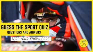 Guess The Sport Quiz | Test Your Knowledge Of Sports