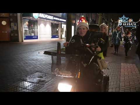 Winterwonderland lichtjes parade