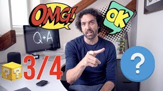 Q & A 3/4 - Proč jím jenom maso? Pracoval bych pro Microsoft? A pro Apple? A nepracuji moc?  [4K]