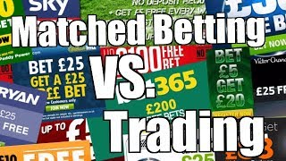 Peter Webb - Bet Angel Software- Matched betting vs. trading