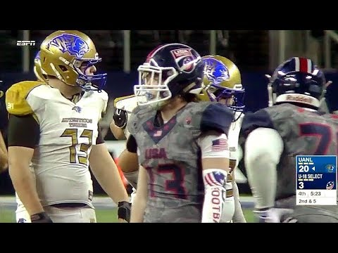 UANL Mexico vs U.S. National Team [ International Bowl 2018 ]