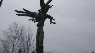 Сабик. Деревянные скульптуры.