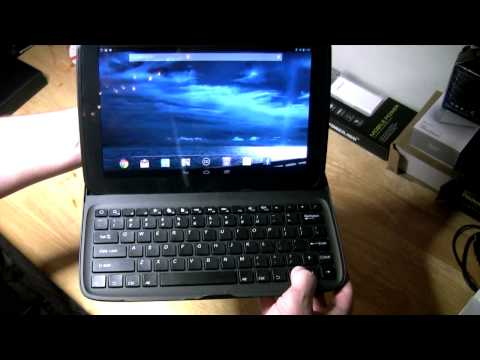 Google Nexus 10 Bluetooth QWERTY Keyboard Stand Case Review