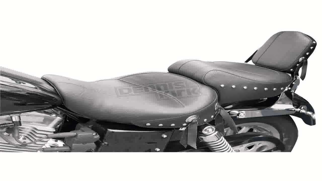 Mustang Wide Touring One Piece Seat Vintage 75211