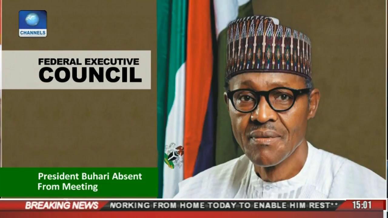 News Across Nigeria: President Buhari Absent From FEC Meeting Again