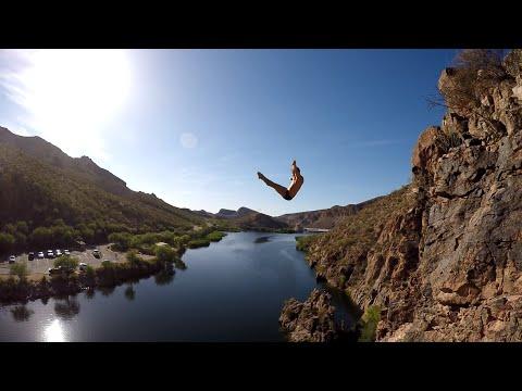 Canyon Lake Cliff Diving