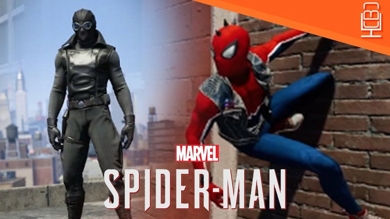 spider-man ps4 spider-punk, noir & more alternate costumes confirmed