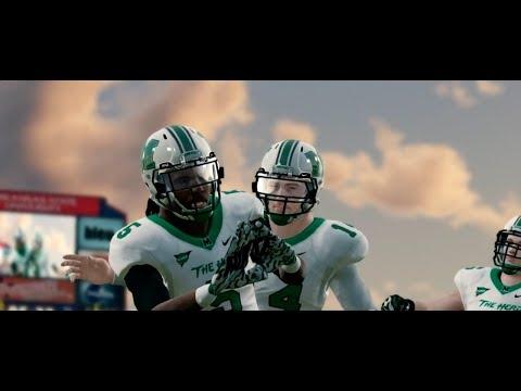 NCAA Football 14 Baltimore State Dynasty Year 2 - W14 vs Marshall