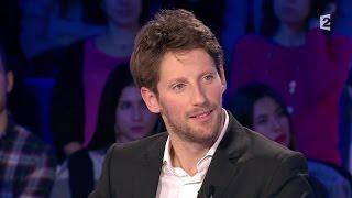 Romain Grosjean - On n'est pas couché 9 janvier 2016 #ONPC