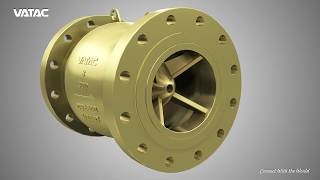 VATAC NON SLAM AXIAL FLOW CHECK VALVE