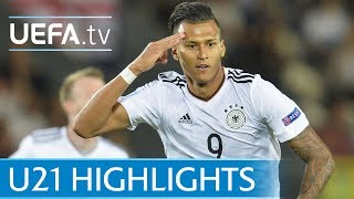Under-21 highlights: Germany v Denmark