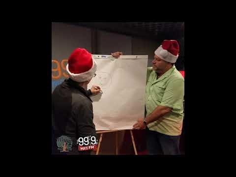 99.9 More FM Christmas Pictionary