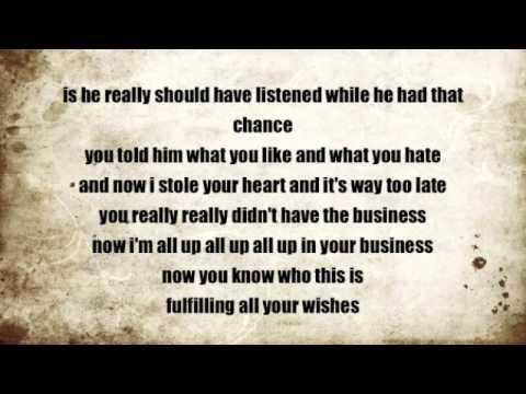 In your mind lyrics