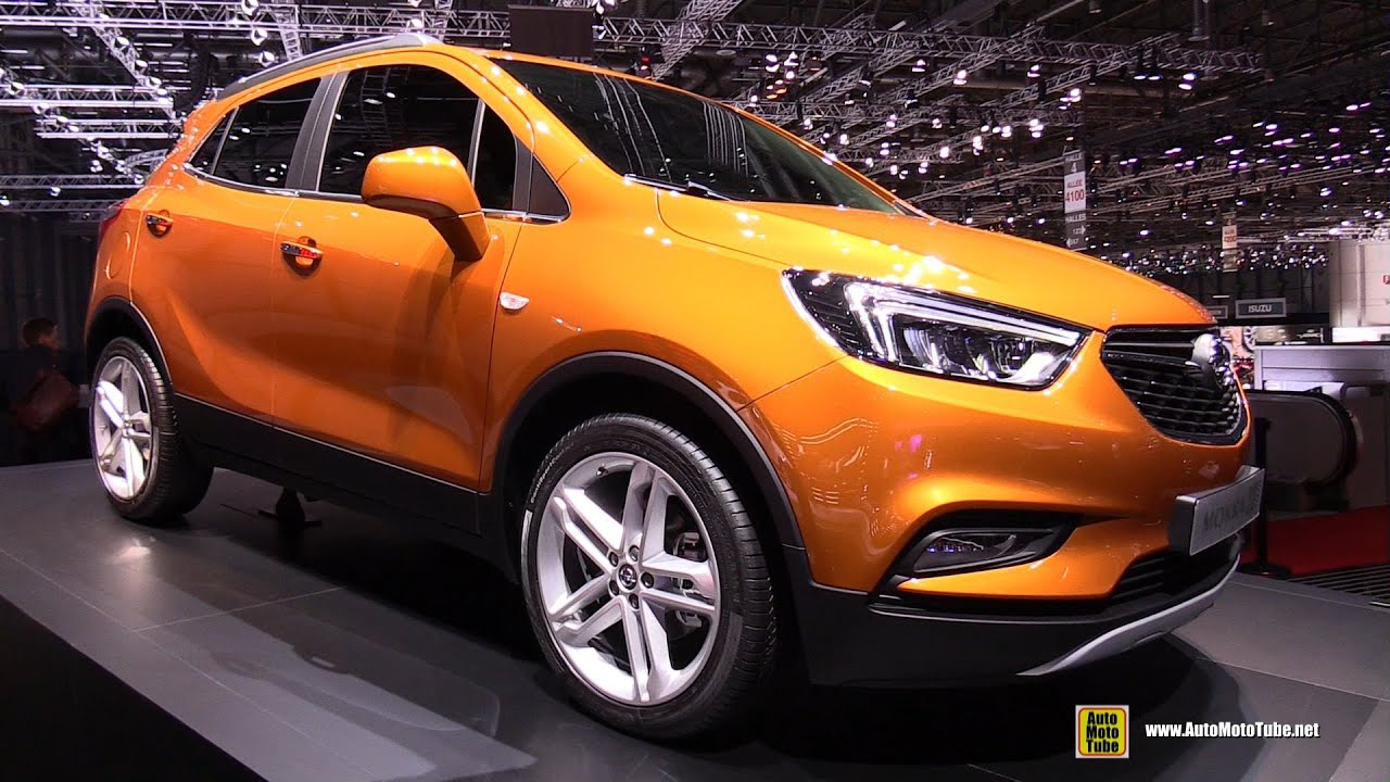 2017 opel mokka x exterior walkaround 2016 geneva. Black Bedroom Furniture Sets. Home Design Ideas