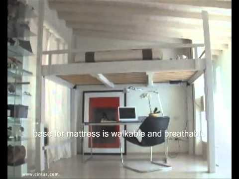 Loft bed living room design ideas youtube for Bed in living room ideas