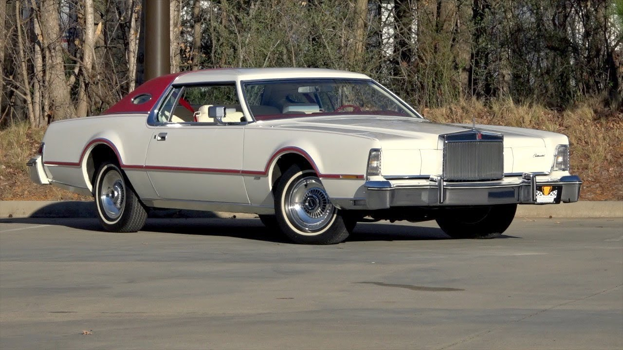 136143 1976 Lincoln Mark Iv Youtube