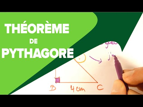 Théorème de Pythagore 4ème - Mathrix - YouTube