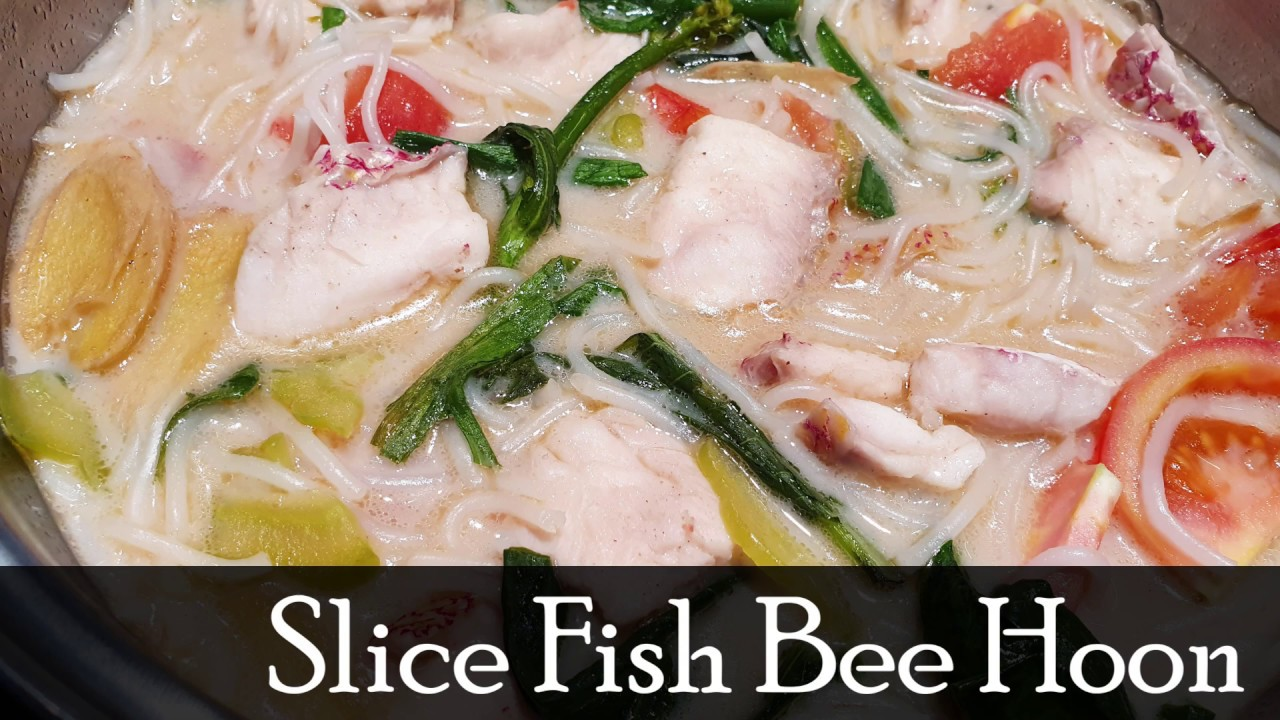 National Day Special Slice Fish Bee Hoon Youtube