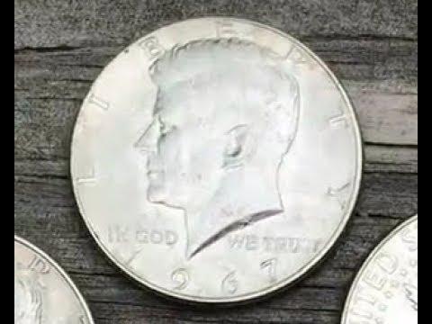 1967 kennedy half dollar worth