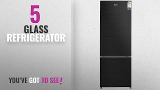 Top 10 Glass Refrigerator 2018 Haier 345 L 3 Star Frost-Free Double-Door Refrigerator